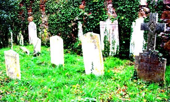 green st grave vivid green landscape